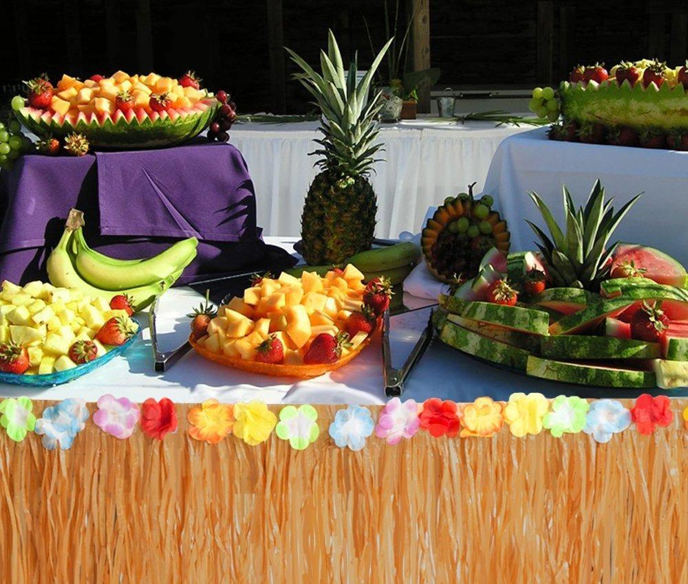 decoración hawaiana