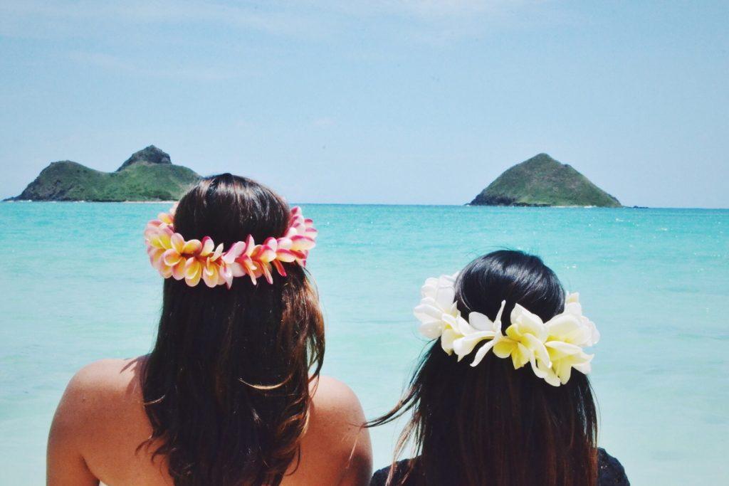 coronas hawaianas