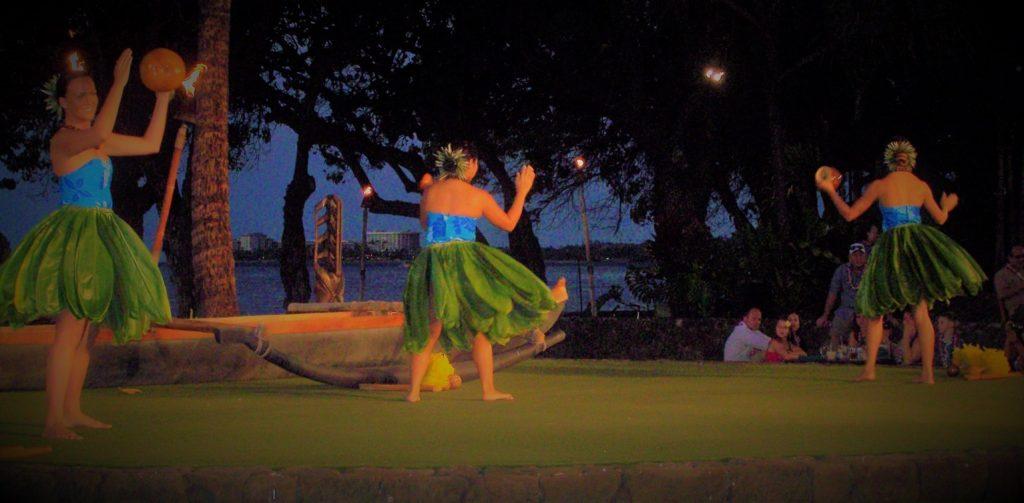 faldas hawaianas