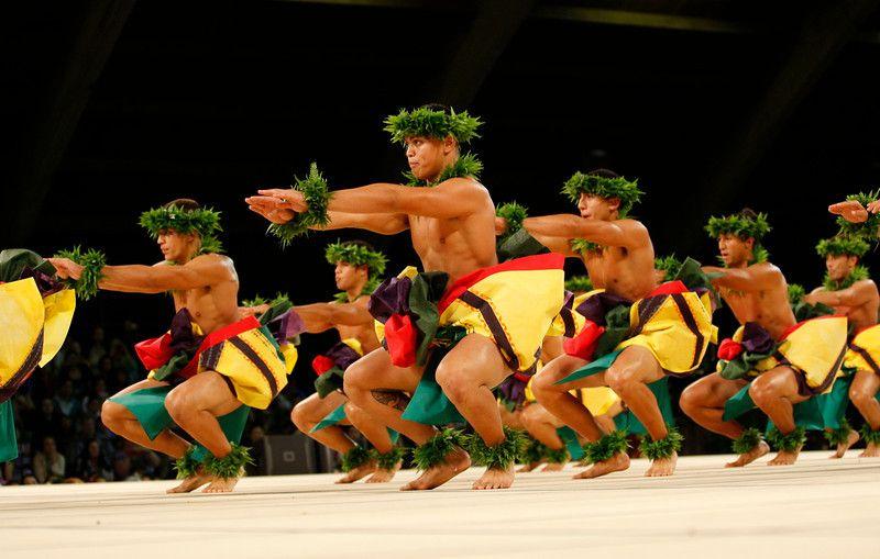 trajes hawaianos